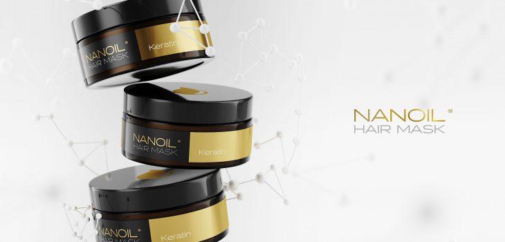 Nanoil favoritmask med keratin